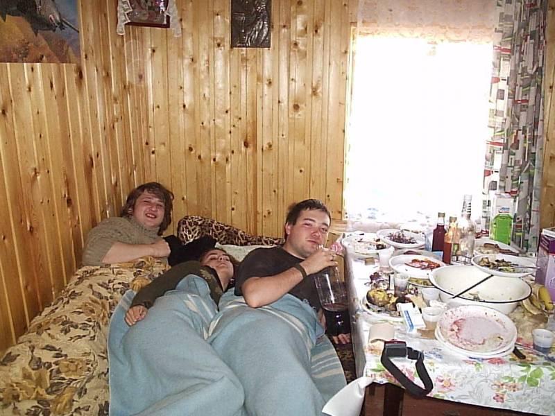 Обычный домашний секс в обычной русской семье